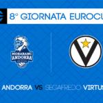 Game Preview, 8° Giornata EuroCup: MoraBanc Andorra-Segafredo Virtus Bologna
